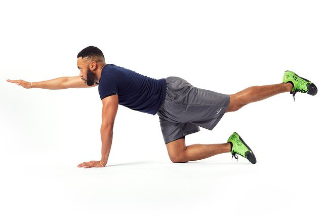 This basic exercise strengthens your entire core.