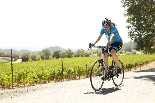 """I feel such accomplishment when I can climb a hill on my bike -- with one lung."""