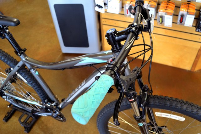 mountain bikes are a popular style for commuter bicycles since the shock absorption and wider tires provide a lot of comfort for the casual cyclist