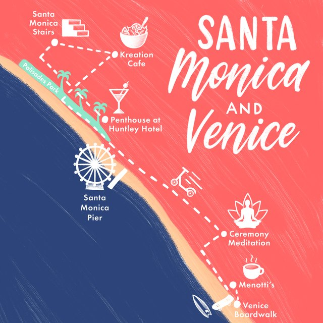 map of santa monica and venice