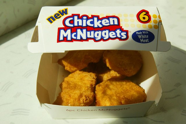 McDonald's is using antibiotic-free meats and have removed artificial preservatives from McNuggets.