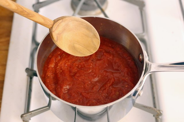 The best way to freeze tomato sauce is in a one or two cup plastic container. When plastic is frozen the molecules move extremely slowly so they don't transfer into .