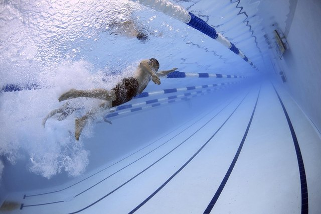 Swimming is an all body workout that builds aerobic capacity.