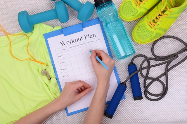 You rarely (if ever) stray from your workout plan.