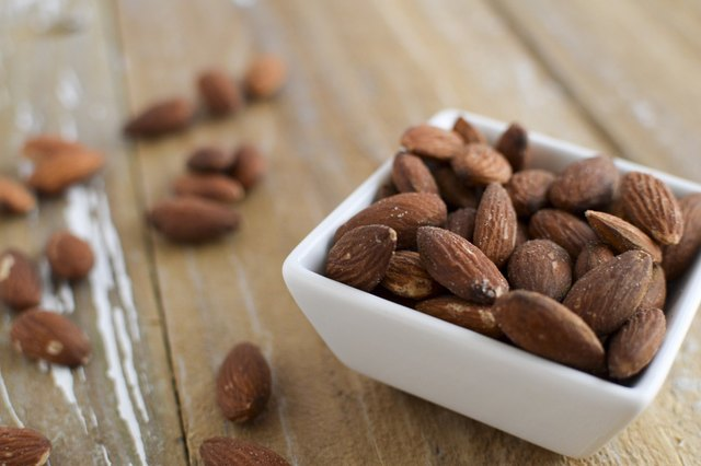A handful of almonds should hold you over.