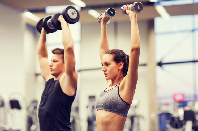 Both men and women benefit from strength training.