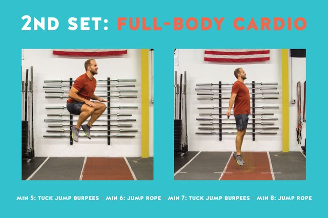 These burpees are brutal but they get results.