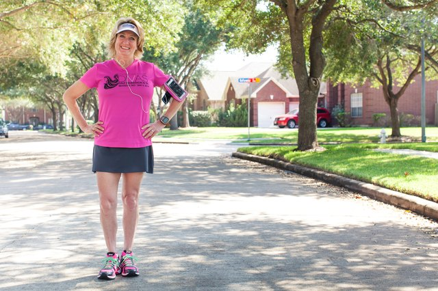 """I like to get up early and run at our office running path before my workday starts at 7 a.m."""