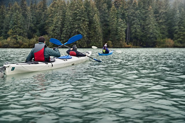 Kayak your way through Alaska.