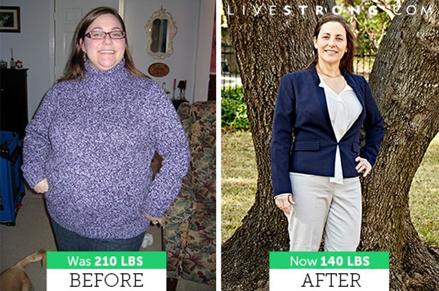 LoriJean lost 70 pounds and five sizes!