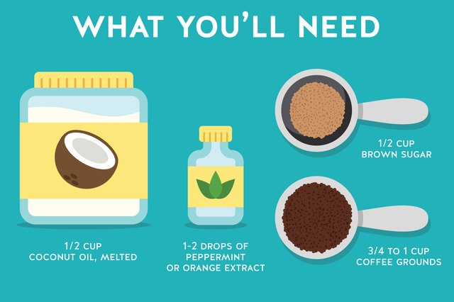 Don't toss those coffee grounds — turn them into a body scrub.