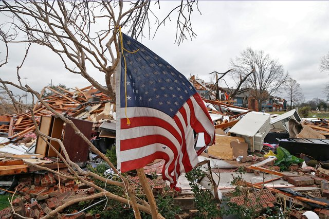 Tornadoes ravaged the Dallas region in 2015.