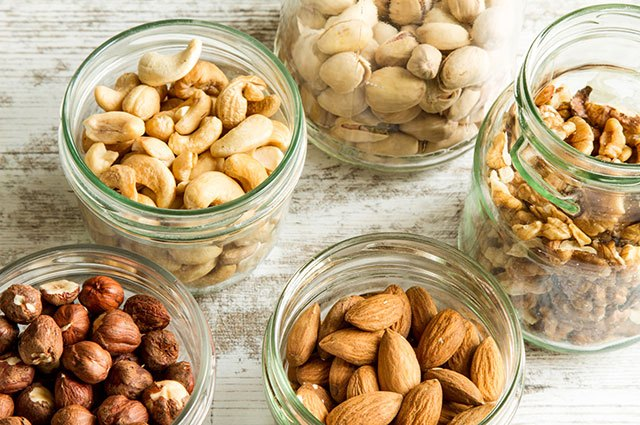 Almonds contain bone-strengthening magnesium.