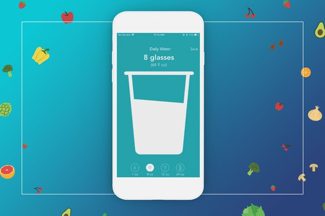 Keeping track of your daily water consumption is so easy.