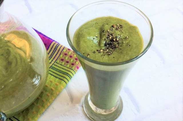 Spice things up with this savory smoothie.