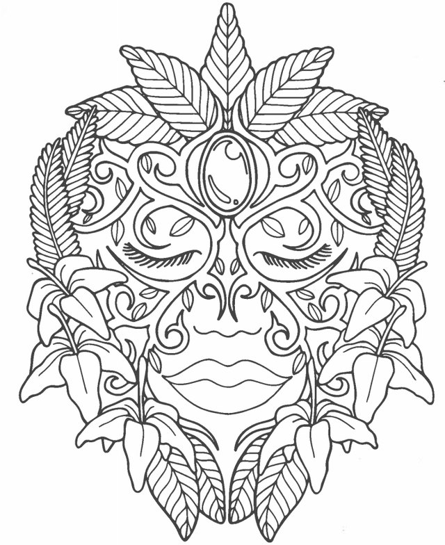 Coloring pages healthy strong ~ Why Coloring Makes You Happy and Healthy - Plus 5 ...