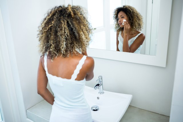 No time for a shower? Wipe off stink-prone areas and wash your face.