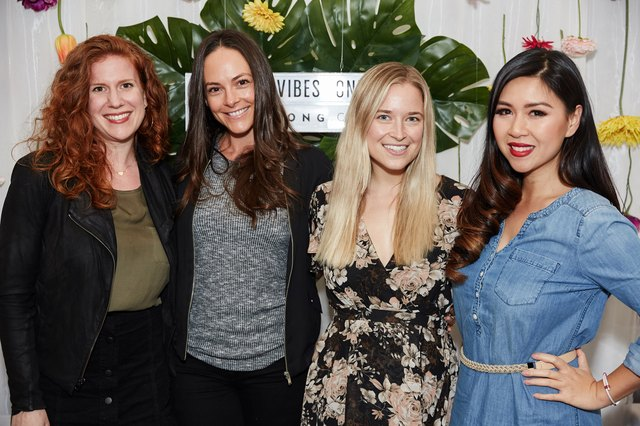 Dinner attendees included Lily Diamond of Kale and Caramel, My Nguyen of @MyHealthyDish, Jordan Younger of @thebalancedblonde and Kelly Leveque of BeWell B yKelly.