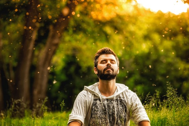 "Meditation can help create ""space"" between you and your depression."