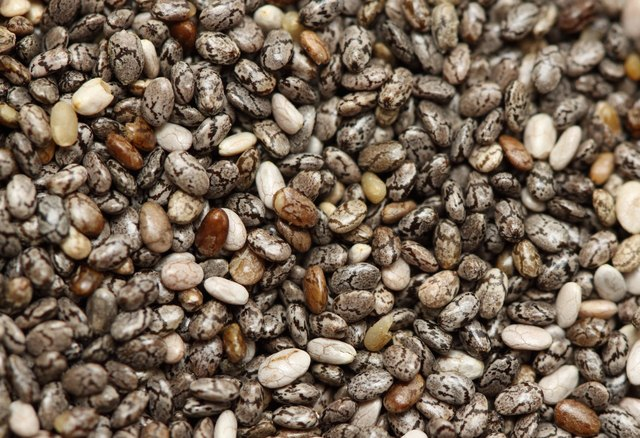 Chia seeds come from the chia plant.