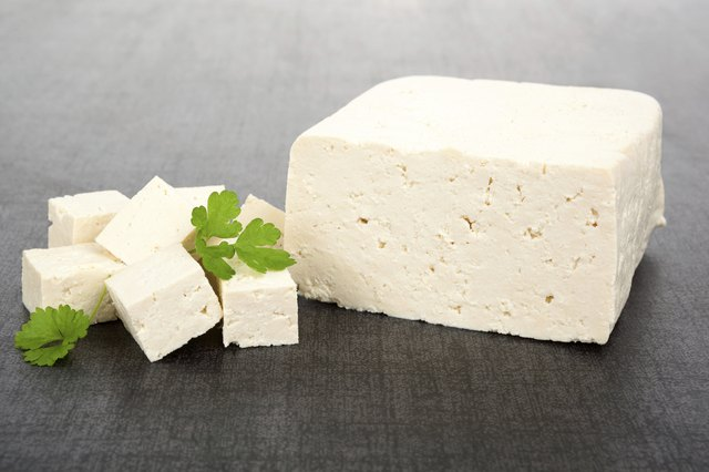 Block of firm tofu