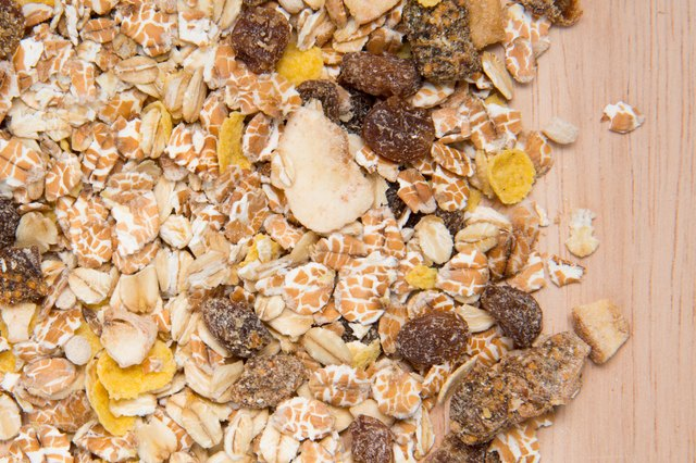 Healthful, homemade, sugar-free granola will keep you energized until lunch.