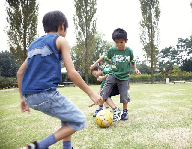 Playing sports can help kids understand how competition works in a friendly environment.