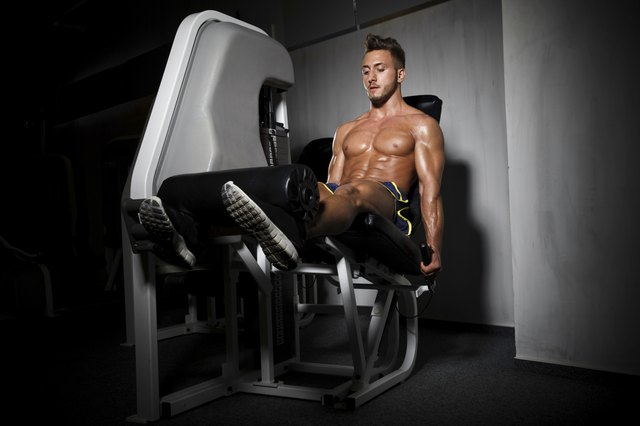 You can have an unbalanced workout with leg extensions.