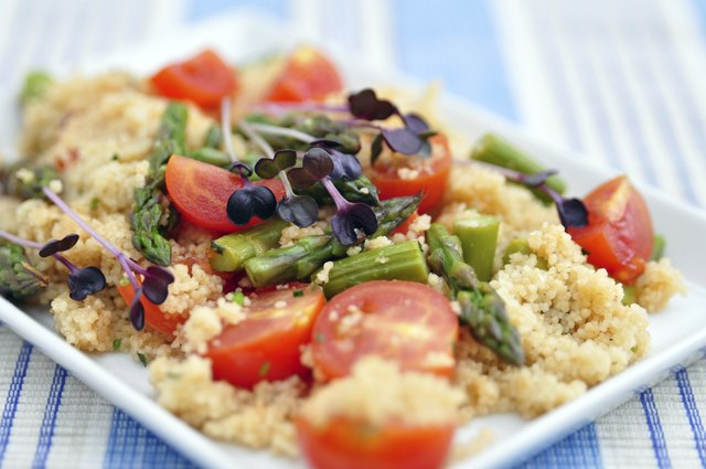 Both white rice and couscous have great versatility in their uses.