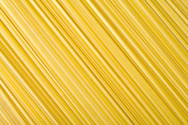 Pasta has enriched flour.