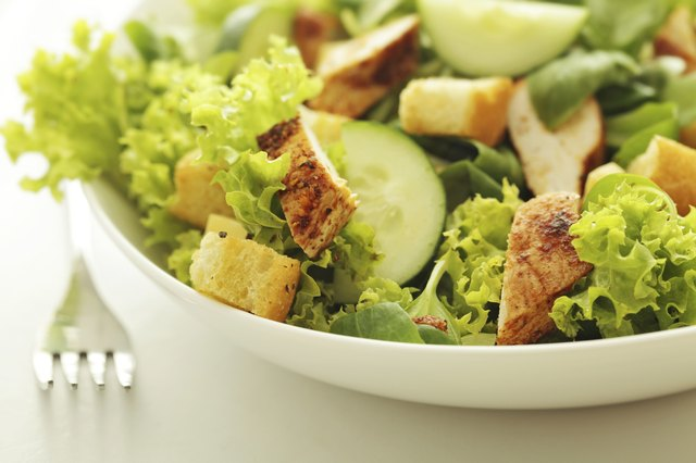 A meal plan for weight loss should always include lunch.
