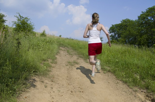 Hill runs will work your glutes and hamstrings.