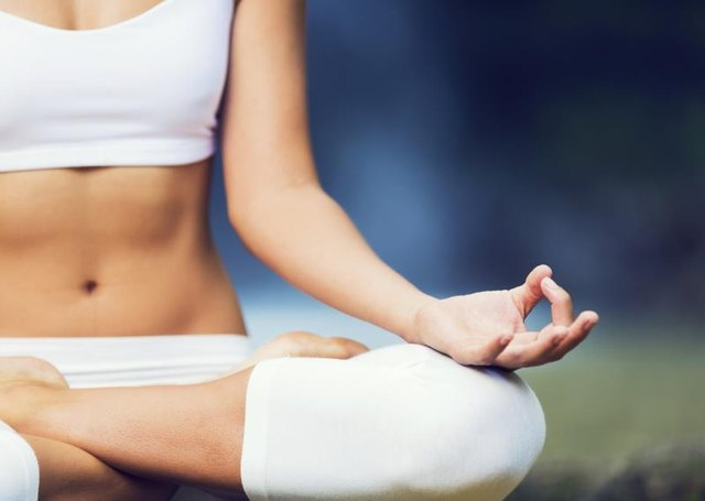 The quiet and calm of yoga decreases stress.