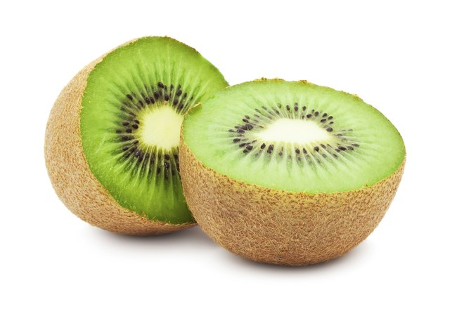 Molasses and Kiwi have Vitamin C which helps absorb Iron