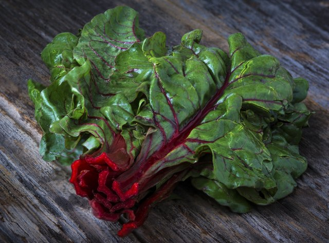 chard is a great source of iron