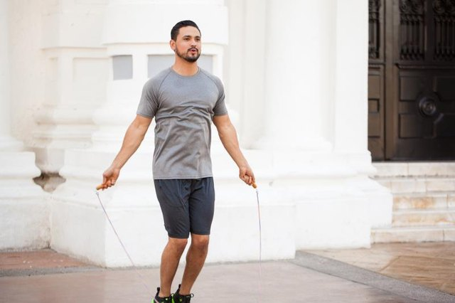 Cardio (like jumping rope) is only one part of the belly-fat solution.