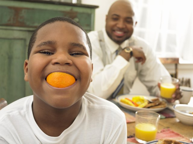 Eating foods rich in vitamin C, like citrus fruits, increases absorption from plant sources of iron.