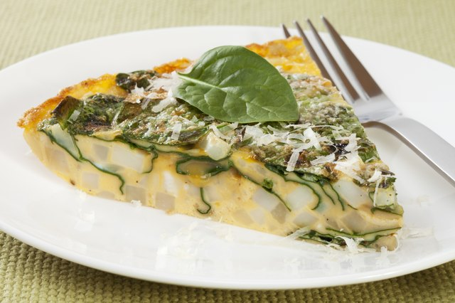 Spinach frittata can spice up your breakfast.