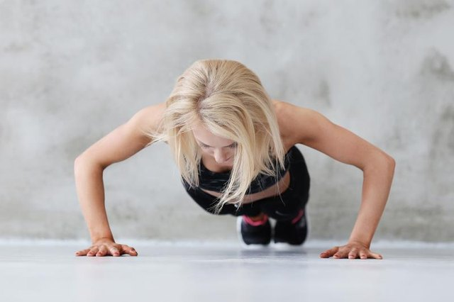 Push-ups don't raise your heart rate as much as sprints.