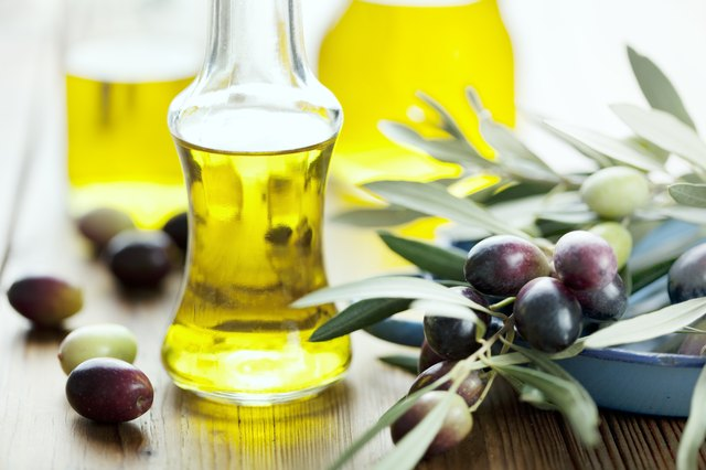 Consider replacing your regular conditioner with olive oil.