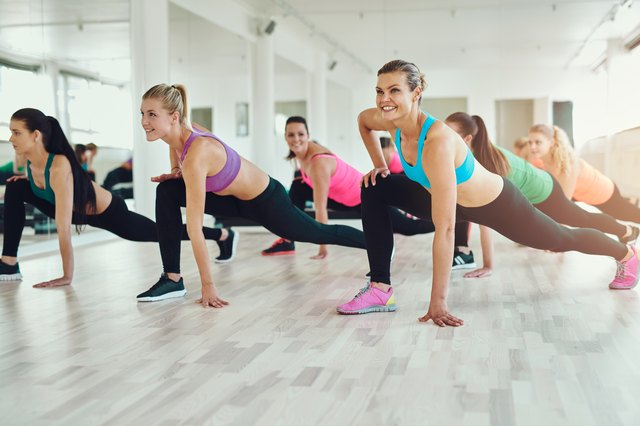 Still a bit uneasy? Try a workout class!