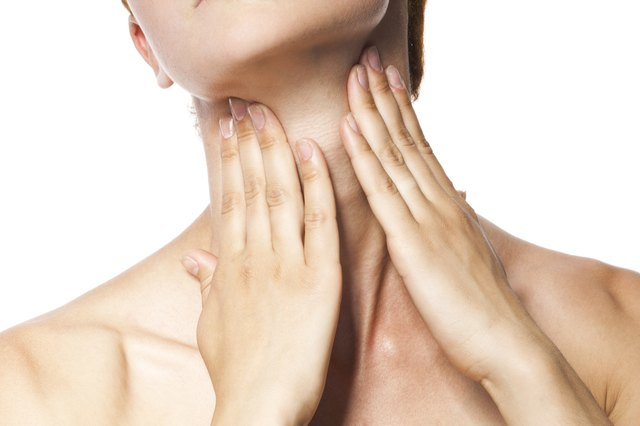 Swollen lymph nodes can be caused by many different things.