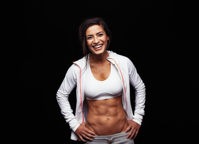 body fat percentage for abs to show female