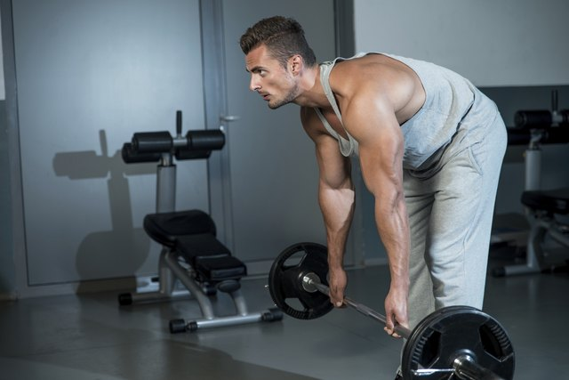 Straight-leg deadlifts and lying leg curls can target your hamstrings.