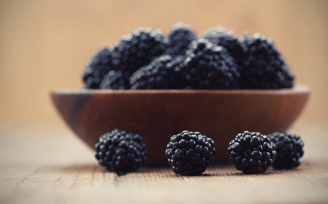 Thornless blackberry fruit has antioxidant properties.