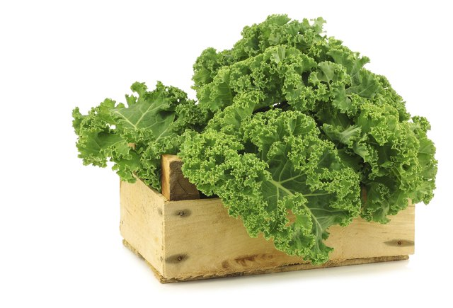 A half cup of cooked kale contains over 500 mcg of vitamin K.