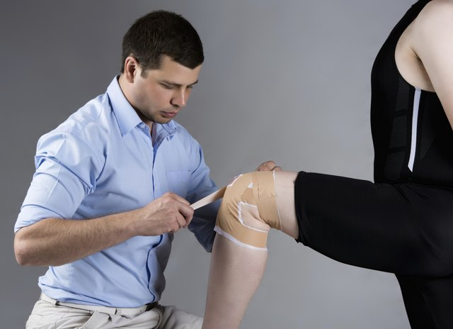 If a physician determines that your knee is not seriosuly injured, you may engage in knee strengthening exercises.