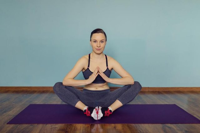 Use your breath as a guide to engaging your deep core muscles.