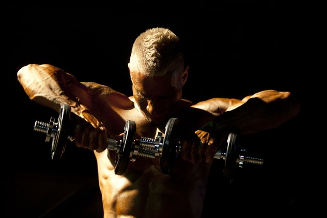 High-intensity workouts create chiseled bodies.