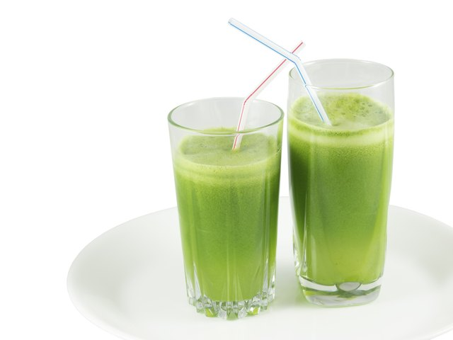Kale juice is best combined with other flavors.